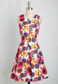 Does this cute colorful dress say look like the perfect Easter Sunday Dress? http://picvpic.com/women-dresses/oh-crafty-day-dress