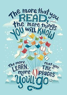 12 book quotes beautifully illustrated by Risa Rodil I Love Books, Good Books, Books To Read, My Books, Motivational Quotes, Inspirational Quotes, Book Week, Lectures, Love Reading