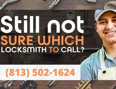Looking for 24x7 locksmith in Tampa. Connect with a Professional Locksmith near to you by calling (813) 502-1624 now.