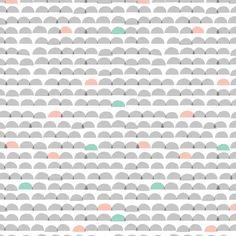 Cloud9 Fabrics - Organic Cotton - Glint - Dawn Gray - Poplin by the Yard