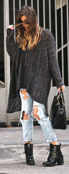Casual Grunge Outfit Idea by TrendyTaste