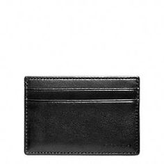 Gifts 50-100: Coach Bleecker Leather Id Card Case