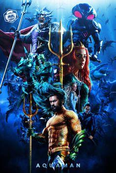 Aquaman Final Poster by Bryanzap on DeviantArt Aquaman 2018, Aquaman Film, Aquaman Dc Comics, Dc Comics Heroes, Dc Comics Characters, Marvel Dc Comics, Batman Comic 1, Batman Vs Superman, Supergirl Superman