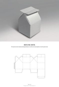 House Box - Packaging & Dielines: The Designer's Book of Packaging Dielines by silvia