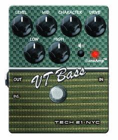Tech 21 Character Series CS-VTB.2 VT Bass V2 Bass Expression Effect Pedal