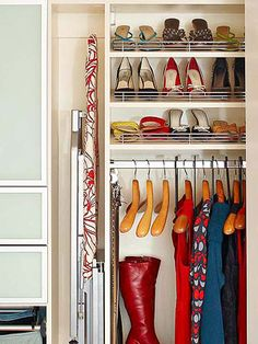 Click through for some of our best tips to organizational bliss: http://www.bhg.com/decorating/closets/how-to-organize-a-closet/?socsrc=bhgpin022815redoyourcloset