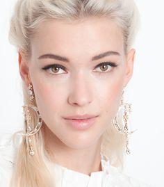 Diamond Star Chandelier Earrings