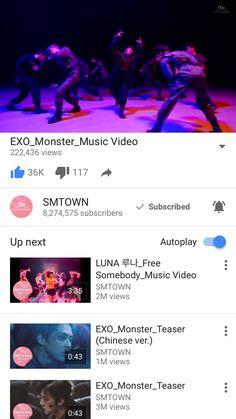EXO - Monster M/V June 8 2016