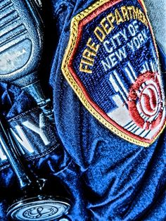 NYC~~Did you know? The FDNY red, white, blue and gold patch was designed by Firefighter Athos Yonick in 1976. It was created as part of a design contest that was open to all FDNY members. The design was added to uniforms and apparatus in 1977.