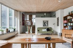 On the market: Arne Branzell-designed midcentury property in Gothenburg, Sweden - WowHaus Nordic Interior Design, Mid-century Interior, 1960s House, Minimalist Decor, Decoration, Small Spaces, House Ideas, Villa, House Design