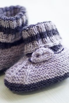 Vauvan tossut 5-6 kk Novita Nalle | Novita knits