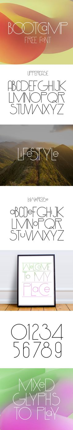 Download free now http://freegoodiesfordesigners.blogspot.se/2016/10/bootcamp-free-font.html