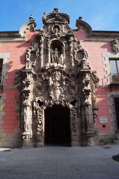 Portada Museo de Historia de Madrid. por León Gil de Palacio