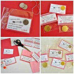 Flip a Coin | 40 Unconventional DIY Valentine's Day Cards