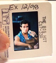 1998 The Big Hit Lot of 10 #PressKit Negatives/Slides #MarkWahlberg as a #Hitman #Hollywood #PhotoSlides #memorabilia