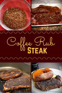 Coffee Rub Steak | Country Girl Gourmet