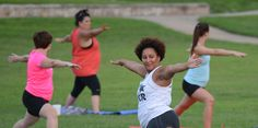Free Fort Smith Yoga Class Draws Crowds To River Sunsets http://shar.es/1nnkRU   #yogaclass #drawscrowds #sunsets