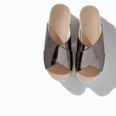 Slides #zara #SS14 #shoes