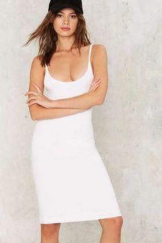 Can't Tank You Enough Ribbed Midi Dress