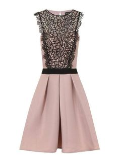 cfcc2bc22e1d Little Mistress Prom Dress Beige Size UK 12 rrp 75 DH170 CC 16  fashion