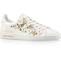 Flower Decorated Low Top Sneakers i8F4A8M5