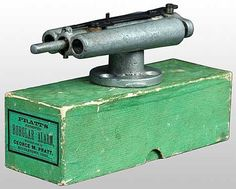 One of the oldest kmown alarm system, the burglar would trip a string that released a trigger for shotgun shells scaring or shooting the burglar.