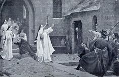 In Nomine Christi by Edmund Blair Leighton
