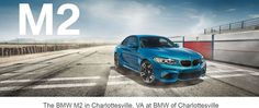 BMW M2 at BMW of Charlottesville: http://www.bmwcharlottesville.com/research/2016/bmw-m2-in-charlottesville-va.htm