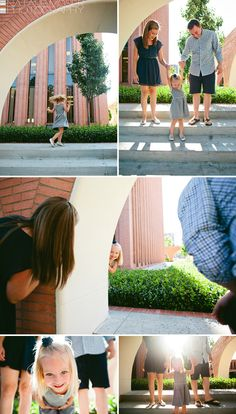 Family of Three at USC   lifestyle portrait photography by natalie moser