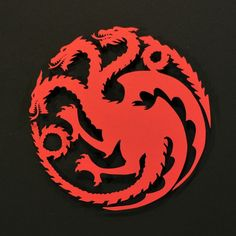 Game of Thrones - Mother of Dragons Decal Vinyl Sticker Game Of Thrones Houses, Game Of Thrones Art, Serie Got, A Clash Of Kings, All Silhouettes, Van Wall, Mother Of Dragons, Bumper Stickers, Superhero Logos