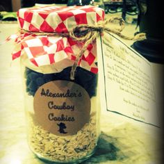 Cookie Jars for my nephews hoedown!
