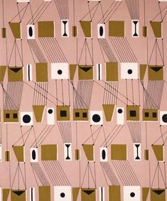 Vintage fabric and haberdashery: Lucienne Day