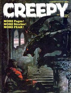 Creepy Comic Book Database