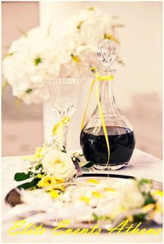 TRUE WEDDINGS | A Lemon Wedding by Elite Events Athens| Anca & Konstantinos | Wedding Tales - Ο γάμος των ονείρων σας! Photo Galleries, Table Decorations, Sweet, Party, Modern, Weddings, Vintage, Home Decor, Candy