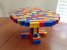 Lego cake plate