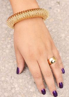 Denies is that finger Gold Band Ring, Gold Bands, Band Rings, Wide Wedding Bands, Jewlery, My Style, Bracelets, Fashion, Weddings