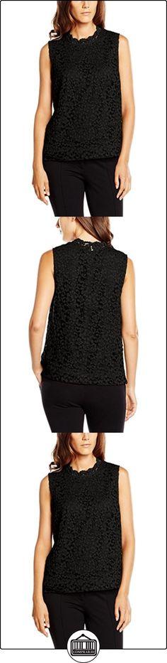 s.Oliver BLACK LABEL 11.608.13.4665, Blusa para Mujer, Negro (Black 9999), 40  ✿ Blusas y camisas ✿