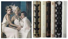 Wedding inspiration and trend - Gatsby Wedding / 1920's Flapper Wedding