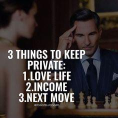 Positive Quotes : 3 things to keep private. - Hall Of Quotes Career Quotes, Money Quotes, Business Quotes, Success Quotes, Wise Quotes, Attitude Quotes, Motivational Quotes, Inspirational Quotes, Daily Quotes