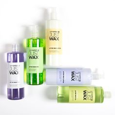 The JUST WAX post wax products are ideal for soothing and calming redness and irritation so that your clients are summer ready quicker than ever.
