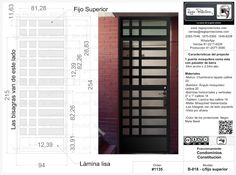 Regio Protectores Protectores para ventanas, Puertas principales, Portones y barandales, Automatizaciones, Herrería contemporánea y Diseño