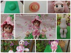garden fairy little girl figure