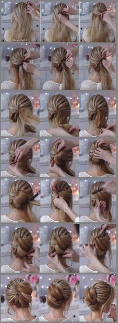 Beautiful French Twist Wedding Hairstyle