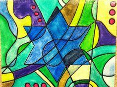 "Judaica Art - OsborneOriginals ""Star of David"" #jewish #watercolor"