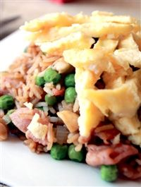 Weigh-Less Online - Fried Rice With Bacon Healthy Options, Healthy Meals, Healthy Recipes, Healthy Mind And Body, Banting, Workout Plans, Weeknight Dinners, Fabulous Foods, Lunch Ideas