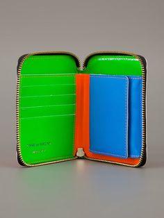 Comme Des Garçons Wallet 'Super Fluo' wallet