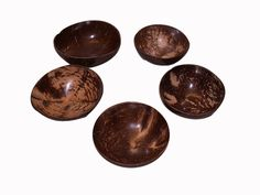 Snack Bowls made of Coconut Shell | Craft.