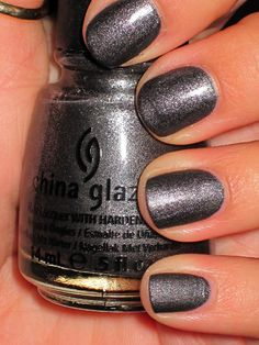 China Glaze: The Hunger Games Collection: Stone Cold.
