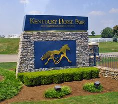 Kentucky Horse Park, Lexington, Kentucky -something about driving by on 75 is like reliving my childhood!