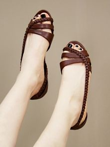 these flats are gorgeous. that braid detail....